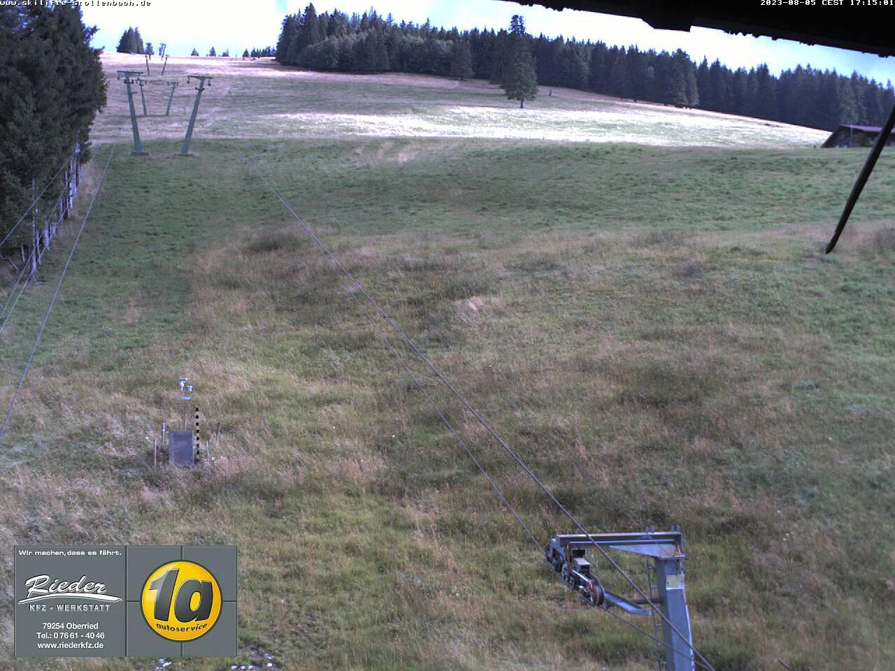 Stollenbach - Aktuelles Live-Wetterbild von den Skiliften Stollenbach